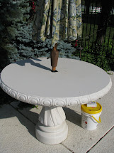' With Staining Concrete - Magic Brush