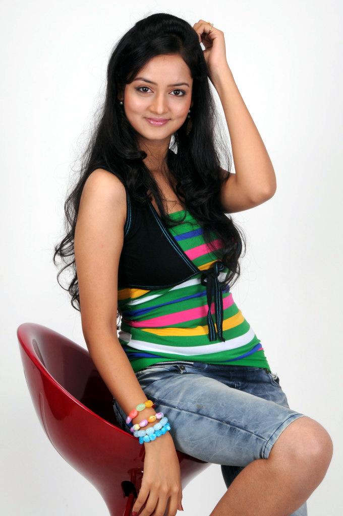 Lovely Heroine Shanvi Cute stills