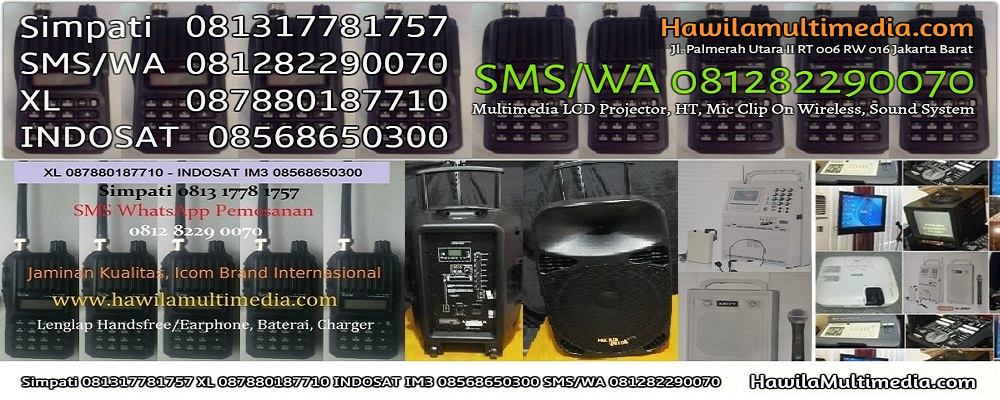 Rental Mic Headset Wireless Sound System Harga Murah