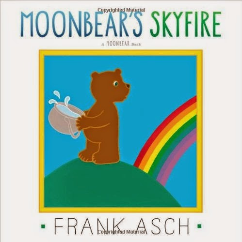 Moonbear's Skyfire by Frank Asch part of book review list about colors and rainbows
