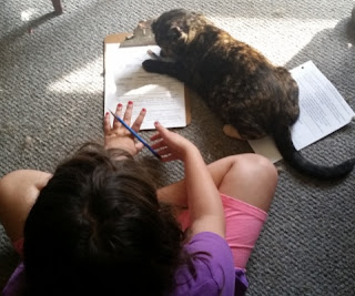 grace and cat