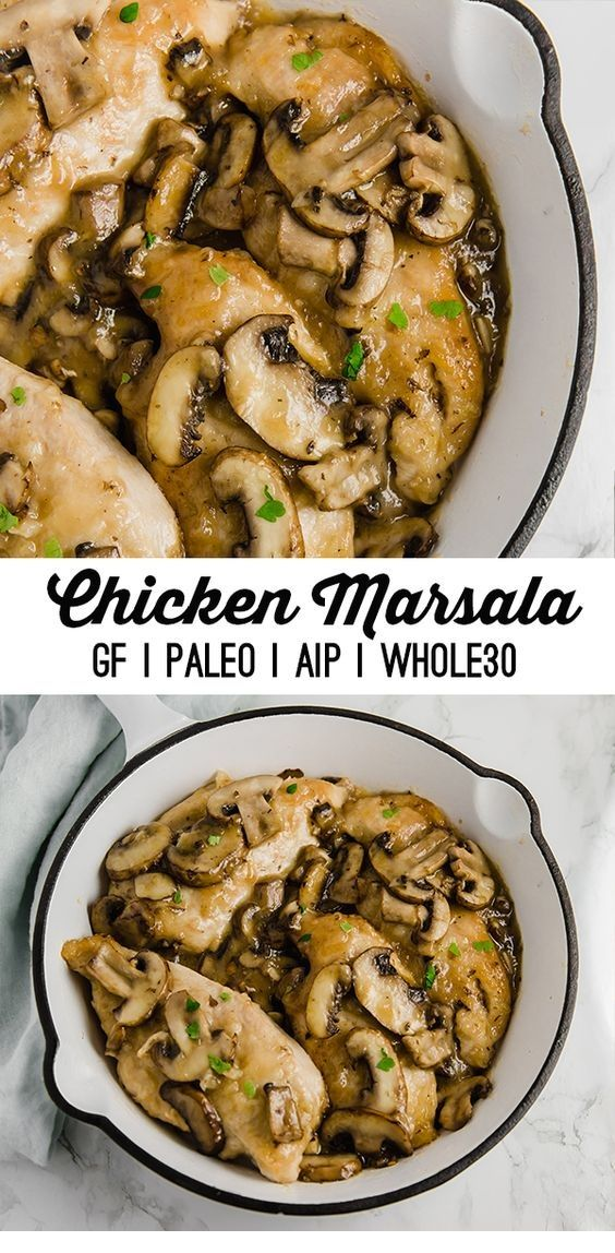 Easy Chicken Marsala Recipes