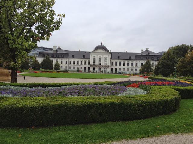 Jardines del Palacio Presidencial