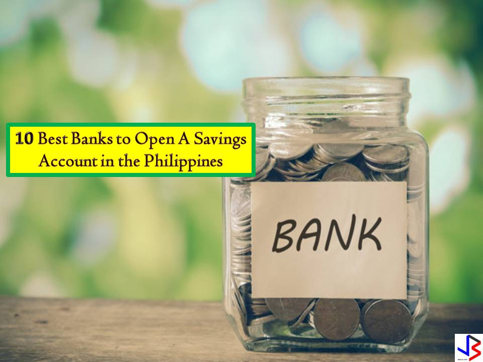 Saving money in a bank is considered to be the easiest and safest way to save money. Banks offer different types of savings accounts where you can save money while earning a small interest. Aside from this, you can be so sure that your money is safe at the bank because they are insured by the PDIC to a certain amount.