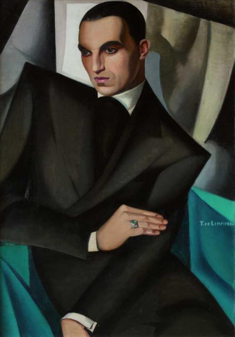 Tamara de Lempicka Ritratto di Guido Sommi