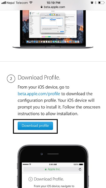 To begin downloading iOS 11 Public Beta 2 on iPhone/iPad, you need to Sign Up for iOS 11 Public Beta Testing Program first and then install iOS 11 Public beta 2