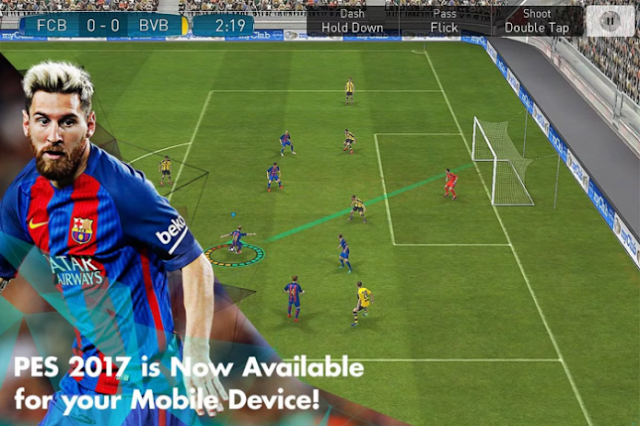 PES 2017 APK+DATA Android Free Download 0.9 Pro Evolution Soccer 17 Latest Version