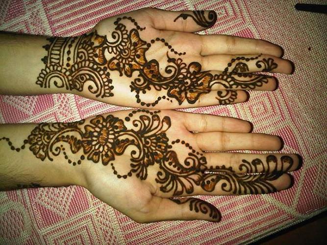 Mehndi Hands Girls : Latest & stunning punjabi mehendi designs 2017 for girls romantic