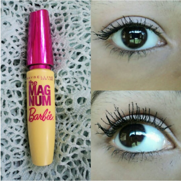 Maybelline New York Magnum Barbie Mascara REVIEW