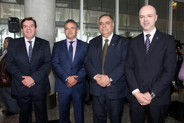 Guillermo Montenegro, Sergio de Urioste, Hector Lescano Fraschini y Antonio Carámbula Sagasti