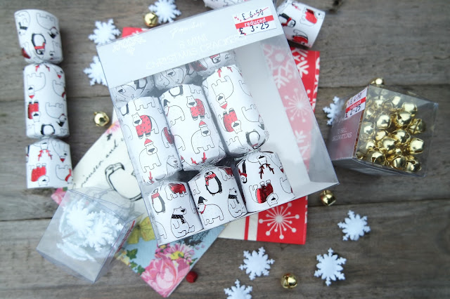 Paperchase Mini Crackers and Christmas Table Scatter