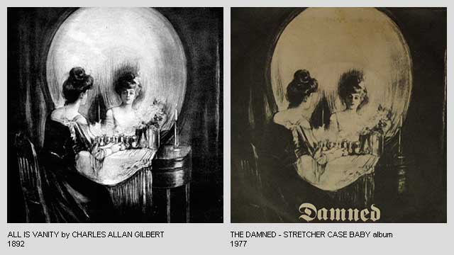 All-Is-Vanity-by-Charles-Allan-Gilbert-Stretcher-Case-Baby-Album-by-The-Damned
