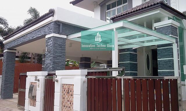 Kanopi Kaca Jl. Puyuh - Binaro 5