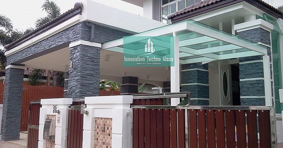 Kanopi Kaca Teras Bintaro - Pasang Kanopi Kaca Tempered ...