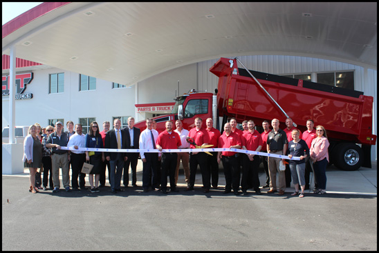CIT Trucks Grand Reopening Ribbon Cutting