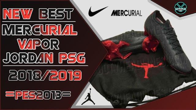 size 40 e9e1b f8005 Nike X Jordan X Psg Mercurial Vapor Boots 2018/19 - PES 2013 ...