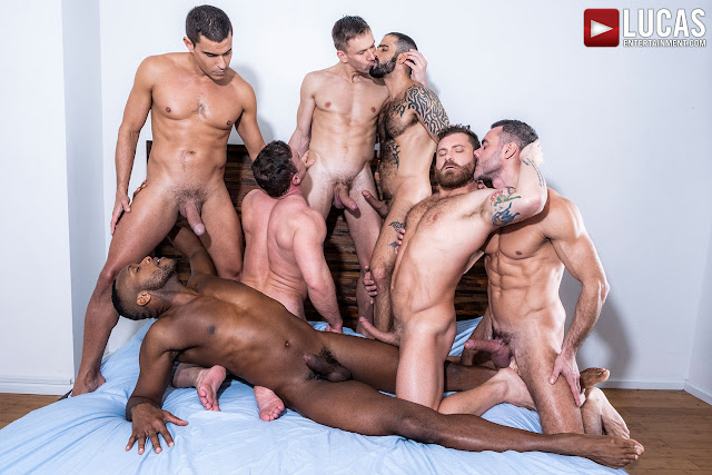 LucasEntertainment - THE LUCAS MEN GANG, BANG, AND POUND (PART 02)