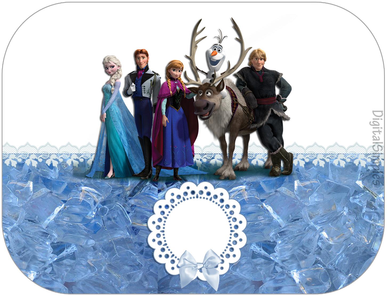 "Kit Digital Aniversário ""Frozen Disney-Uma Aventura"