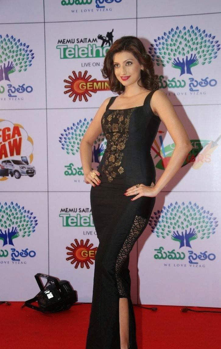 Hamsa Nandini Unseen Stills, Hamsa NandiniHot Hd Pics in Black Dress