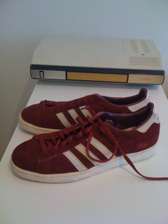 co2styles: VINTAGE ADIDAS CAMPUS MADE IN KOREA SIZE 10