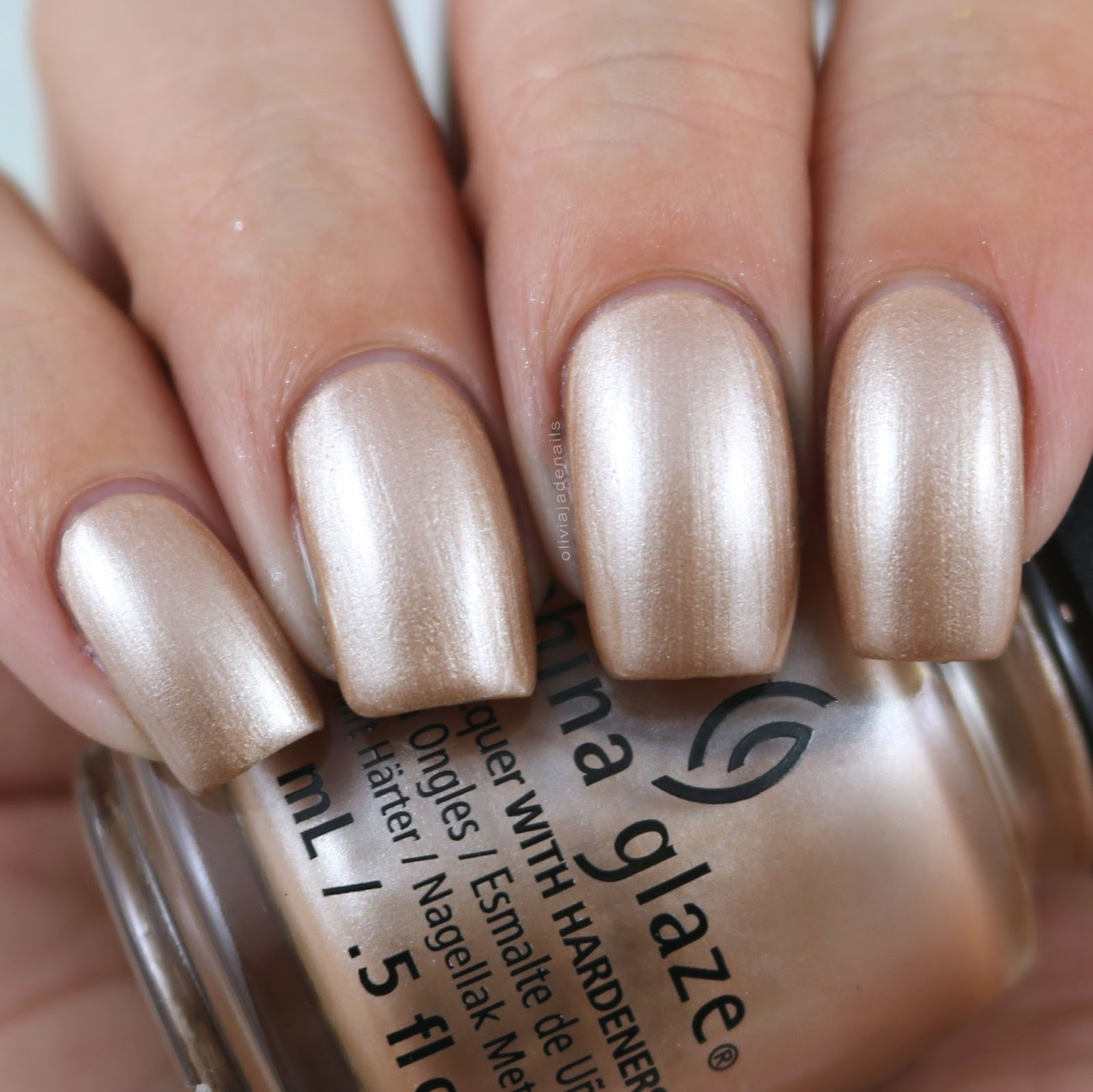 Olivia Jade Nails: China Glaze The Glam Finale Collection - Swatches ...