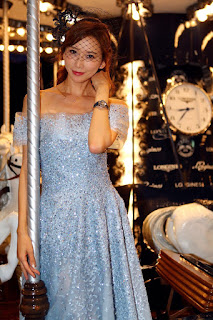 林志玲現身法國時尚之都  造訪Longines浪琴表巴黎春天百貨名品店