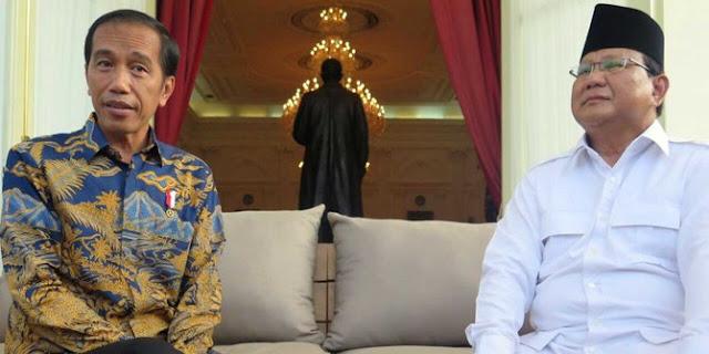 Pasangkan Jokowi - Prabowo, Survey Indo Barometer Absurd Berat