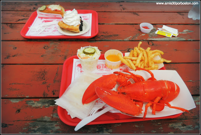 Langosta, Lobster Roll y Blueberry Pie en Maine