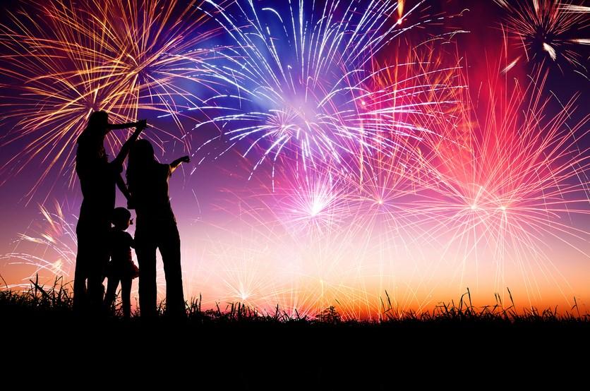 Tips memotret kembang api di acara pergantian tahun