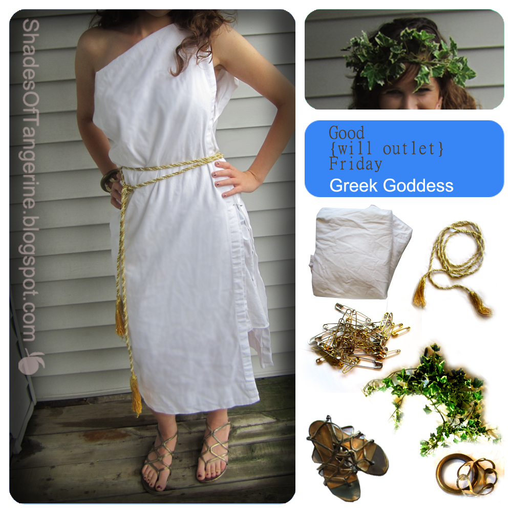 Shades Of Tangerine: Good{will Outlet} Friday #33 Costume