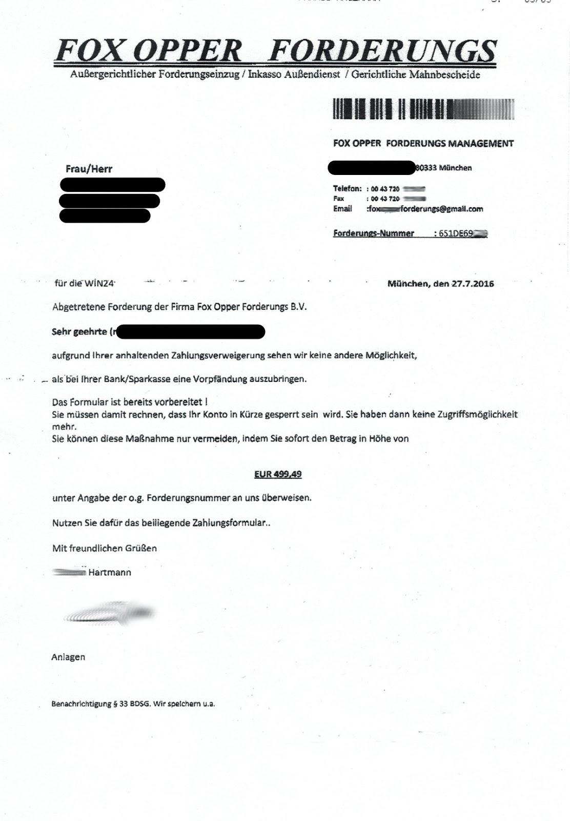 Beispiel E-Mail online datieren