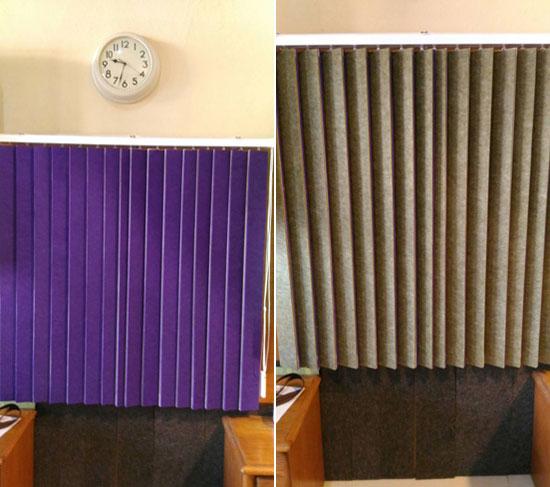 康賀報你知:比窗簾、百葉窗更神奇的多功能百葉窗《高雄,輕鋼架,隔音改善,隔熱材料》