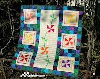 Perennial Pinwheels quilt