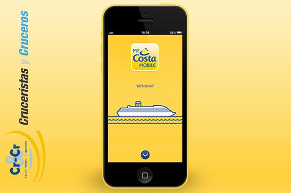 NOTICIAS DE CRUCEROS - Una aplicación para el móvil que realmente funciona en los barcos de Costa Cruceros