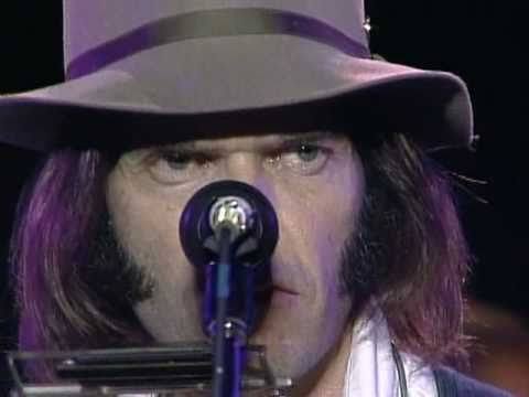 neil young hey hey my my live farm aid 1985