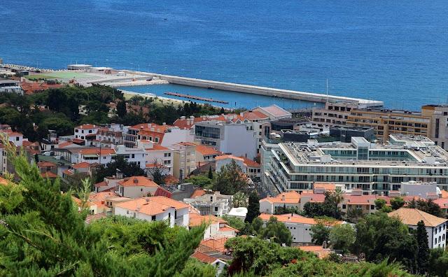 Funchal port new pier