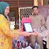 Pelepasan Mahasiswa P4 FKIP Unsri 2016/2017 di SMPN 1 Indralaya Utara