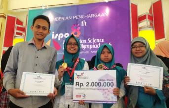 MTsN 1 Malang Raih Medali Emas di ISPO 2016 Mengalahkan SMA