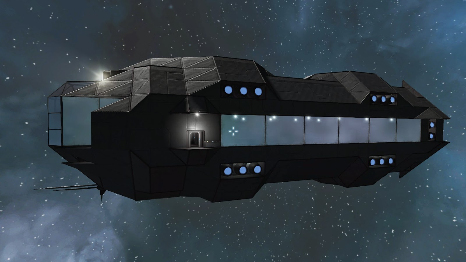 Projects Dirt First Designing The Oracle Class Omni In Space Engineers