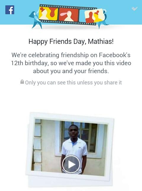 Facebook Celebrates Her #Friendsday: 12th Birthday