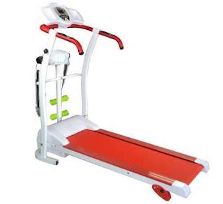Treadmill Ha 150 Elektrik 3 in 1 Alat Olahraga Masa Kini