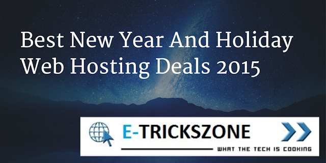 Holiday Web Hosting Deals 2015
