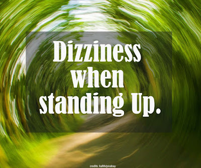 Why you feel dizzy when standing.
