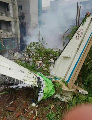 Mumbai Plane Crash chartered plane crash in ghatkopar mumbai With CCTV Photos