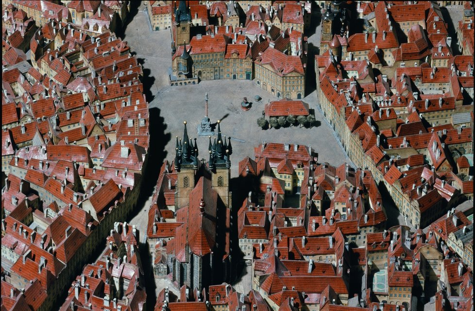 Langweil Model of Prague