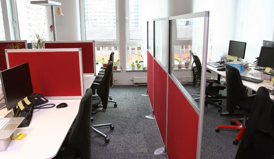 Colour Up Your Office Gunstige Akustikwand Mit Schallschutz Fur