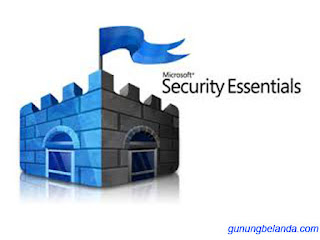 Microsoft Security Essentials - Antivirus Anti Adware dan Spyware Terbaik Dari Microsoft Security
