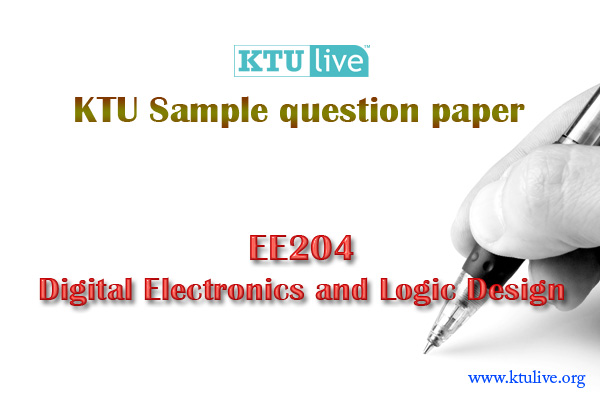EE204 DELD :KTU S4 Sample question paper - Civil SIMAT