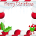 MERRY CHRISTMAS PHOTO FRAME IMAGES IN PNG