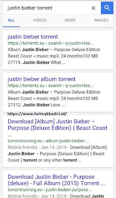 menggunakan utorrent diandroid untuk downloadv